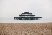 Burnt Pier In Brighton