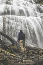 Aaron At Bridal Veil Falls
