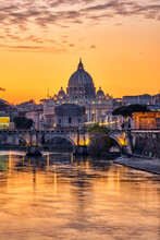 Sunset Over The St. Peters Bas...