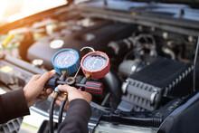 Car Air Conditioner Check Serv...