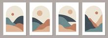 Set Of Trendy Minimalist Lands...