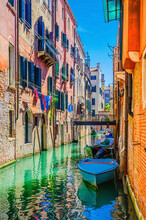 Venice Cityscape With Narrow W...