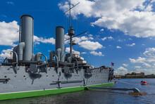 Aurora Cruiser Museum Ship - Saint-Petersburg Russia