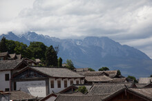 Heritage Village Of Lijang In Yunnan China