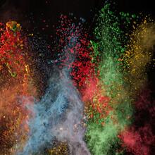 Splashing Power Colors