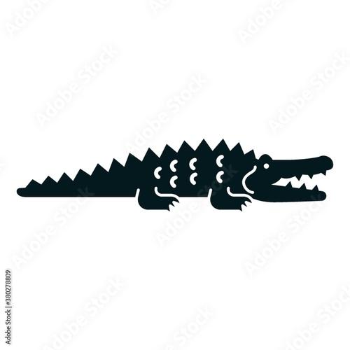 Crocodile icon Wallpaper Mural
