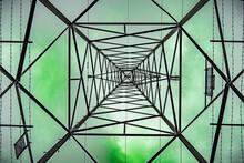 An Electricity Pylon Taken Fro...