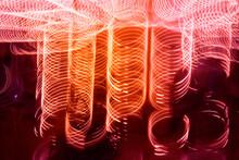 Abstract Fairground Lights: A ...