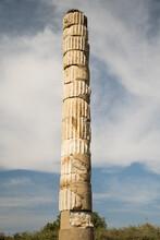 Unique Column Of The Temple Of...
