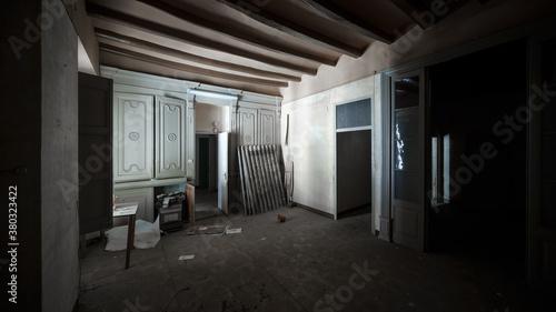 Fototapeta corridor in the building