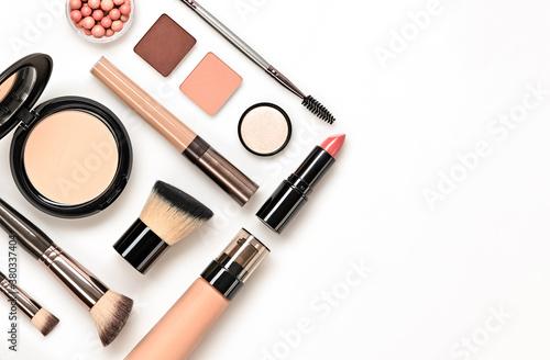 Fototapeta Beauty cosmetic makeup background