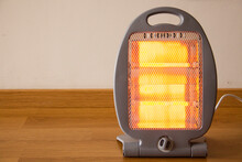 Portable Electric Heater, Halogen Light Heater