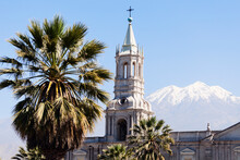 Basilica Cathedral Of Arequipa...