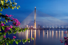 Rama VIII Bridge On Chao Phray...