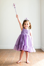 Girl (4-5) In Princess Costume