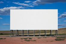 Blank Billboard In The Middle ...