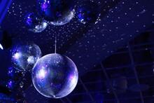 The Concept Of Disco. Light An...