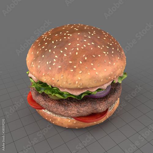 Fototapeta Hamburger obraz