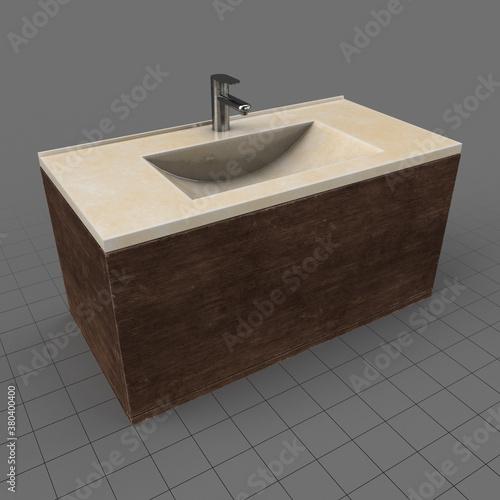 Fototapeta Bathroom sink obraz