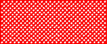 Red, Polka Dot Jersey Pattern....