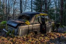 Abandoned Old English Car Cove...