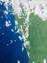 Peeling Blue & Green Background