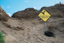 Unstable Dunes Sign