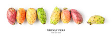 Prickly Pear Cactus Fruits Creative Banner