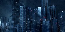 3D Rendering Of Futuristic Vir...