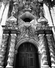 Detail Of The Entrance Of The Church Of The Holy Sepulchre