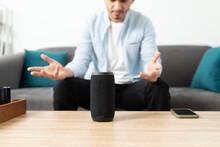 Broken Smart Speaker At Home