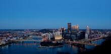 Pittsburgh Pennsylvania Downtown Skyline