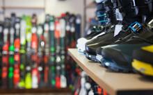 Sport Equipment Shop Interior ...