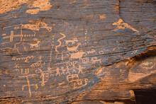 Prehistoric Petroglyph Drawings