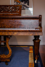 Vintage Piano Detail