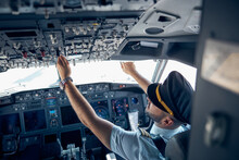 Airplane With Pilot On Board P...