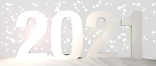 Banner Of The New Year 2021 Wi...
