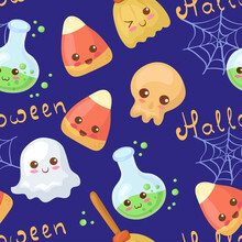 Seamless Vector Pattern With K...