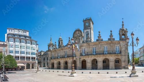 Town Hall in Lugo (in Spanish Ayuntamiento Concello de Lugo) Northern Spain Galicia