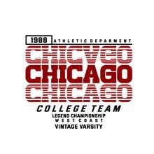 Chicago College Team Vintage V...