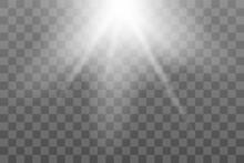Shining Sun Glare Rays, Lens F...