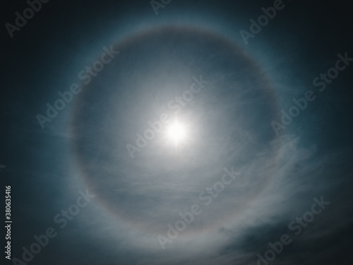 Photo Halo by the Sun