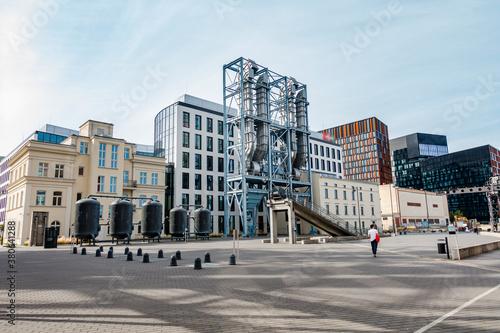 Fotografia, Obraz Łódź miasto centrum nauki i techniki ec1 architektura