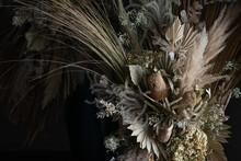 Big Bouquet Of Dried Flowers I...