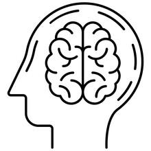 Neurology Line Vector