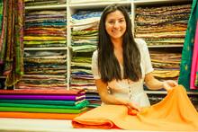 Business Lady Shop Owner Cashm...