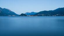 Lago Di Como Con Il Promontori...