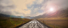 The Word 2021 Written On Highw...