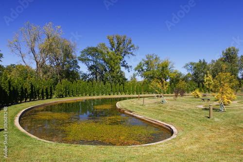 Fotografie, Tablou Foundation Park, Mount Vernon, Ohio
