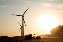 Harvest And Windmills.
